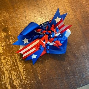 Patriotic Bow Headband for Baby & Toddler